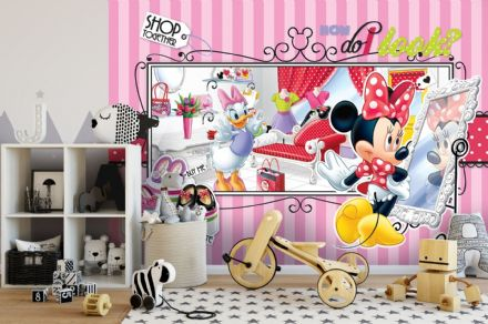 Easy to apply Disney Minnie Mouse wallpaper